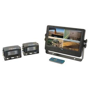 "CabCAM Video System Quad Includes 9"" Digital Touch Screen TFT LCD Monitor and 2 Cameras CCT9M2CQ"