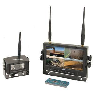 "CabCAM Video System QUAD Digital Wireless w/ Recording Capability Incl. 7"" Monitor and 1 Camera CDW7M1C"