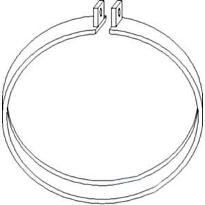 Clamp Headlapm CLP200