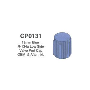 13mm Blue R-134a Low Side Valve Port Cap OEM & Aftermarket 5 pack CP0131