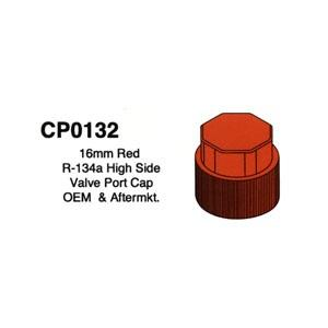 16mm Red R-134a High Side Valve Port Cap OEM & Aftermarket 5 Pack CP0132