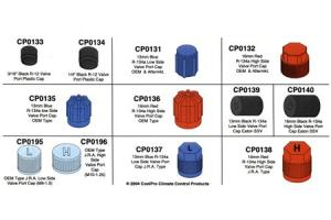 J.R.A. OEM Style Low Side Valve Port Cap M9-1.04 Pack CP0195