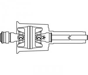 C.V. Joint & Shaft Half w/ Plastic Guard 80 DT53273N