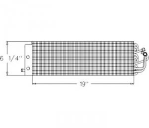 Evaporator E4NN18N315AD