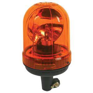 Rotating Beacon Amber Pipe Type EPMRTFLX
