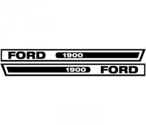 Hood Decal F1900VC