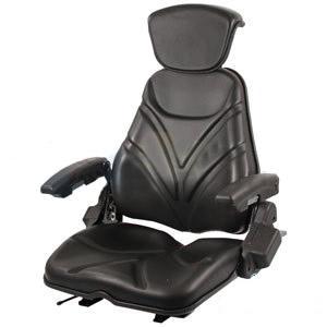 Seat F20 Series Slide Track / Armrest / Headrest / Black Vinyl F20ST105