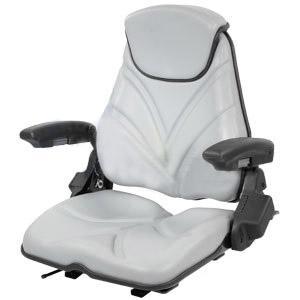 Seat F20 Series Slide Track / Armrest / Headrest / Gray Vinyl F20ST135
