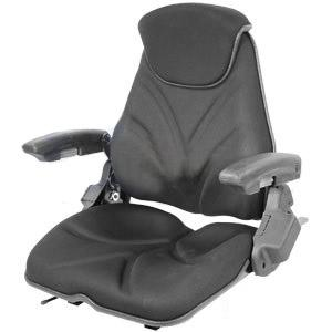 Seat F20 Series Slide Track / Arm Rest / Head Rest / Black Cloth F20ST145