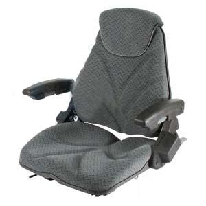 Seat F20 Series Slide Track / Arm Rest / Head Rest / Gray Cloth F20ST155