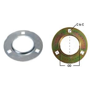 Flange Half Bearing Re-Lubricatable 3 Bolt W/ Zerk F3Z52-I