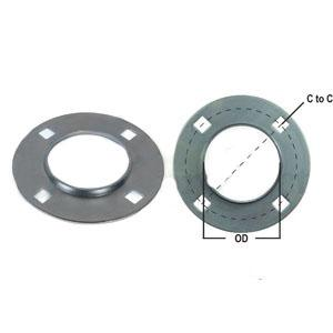 Flange Half Bearing Re-Lubricatable 4 Bolt Round W/ Zerk F4Z85-I