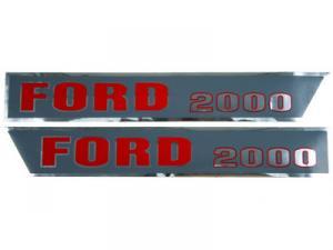 Hood Decal F501H