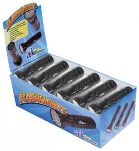 FlashLight Display A & I Logo Multi Function LED W/ Batteries12 Pcs. FLAI12