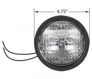 "Lamp Tractor & Utility Rubber Body 3"" Deep 12 Volt L89512V"