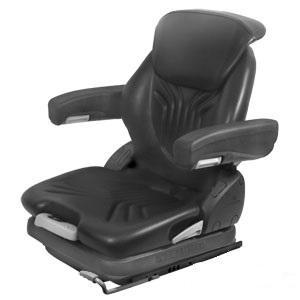 Grammer Seat Assembly BLK VINYL MSG65BLV-ASSY