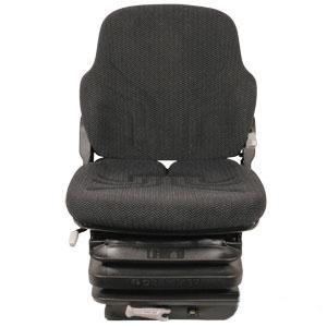 Seat Mechanical Suspension L/ Armrests BLK/GRY MATRIX CLOTH MSG85721F