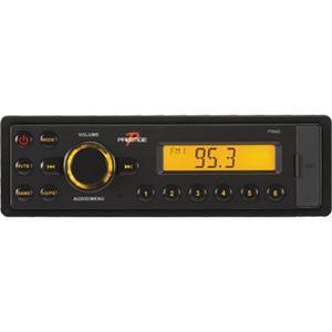 Prestige Radio AM/FM WeatherBand Aux In Front 4 X 25 Watts DIN PTR425
