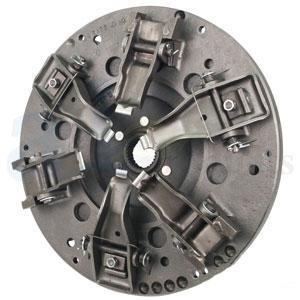 "Pressure Plate: 13.5"" 6 Lever Dual incls PTO Disc w/ 2.964"" flyWheel step RE-MFG R43205-R"