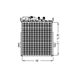 Oil Cooler/Condenser RE55139