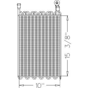 Evaporator / Heat ExcHanger RE57574