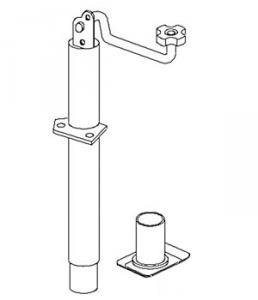 Detachable Caster VLA2057