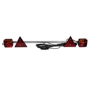 Light Set Trailer TeLescopic VLC2122