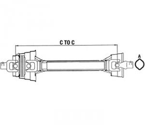 Complete Constant Velocity Shafts WC484821A