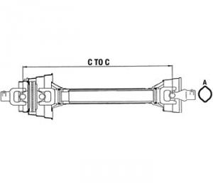 Complete Constant Velocity Shafts WC484822A
