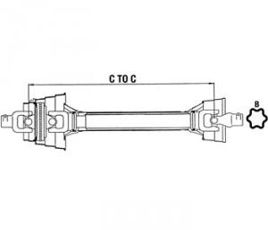 Complete Constant Velocity Shafts WC584833A