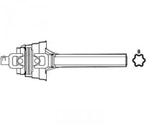 Complete Constant Velocity Tractor Half Shafts WT58483